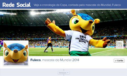 Fuleco, mascote do Mundial 2014 | globoesporte.com.15/07/2014.