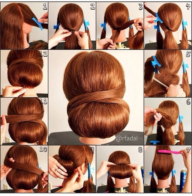 How Do To A Classy Low Updo