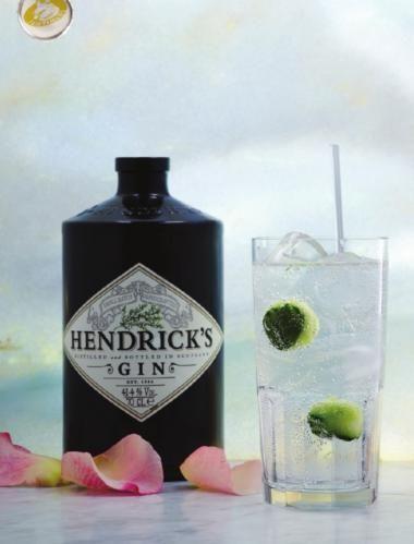 Hendrick's Gin en Fentimans Tonic  http://njam.tv/recepten/hendricks-gin-en-fentimans-tonic