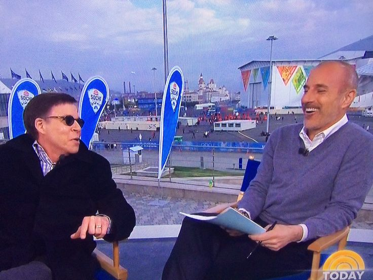 Matt Lauer's fantastic eye joke to Bob Costas deserves Olympic gold