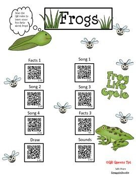 Great for workshops, centers, early finishers, ESL, Special Ed. and much more. QR codes make learning so much fun. This product is good for differentiated instruction. K-3rd $ Student tested, students loved!