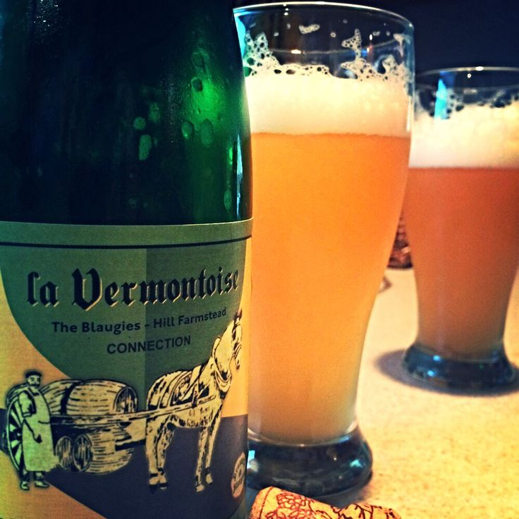 The Blaugies- Hill Farmstead Collaboration La Vermontoise Farmhouse Saison. Fantastic!! Bitter, refreshing, aromatic, firm bodied and unfiltered. I want another bottle!!