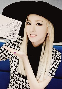 Dara  2NE1 Come visit kpopcity.net for the largest discount fashion store in the world!! - I really want her hat T^T