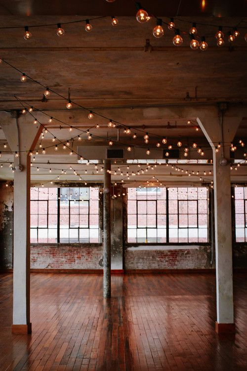 Minimalist reception lighting