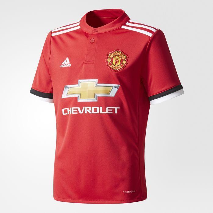 adidas Manchester United Home Replica Jersey - Kids Soccer Jerseys