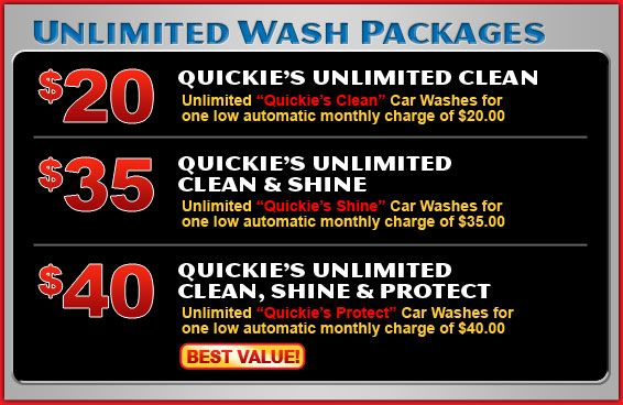 Quickie's Quality Car Wash - Express Car Wash in Corona, CA