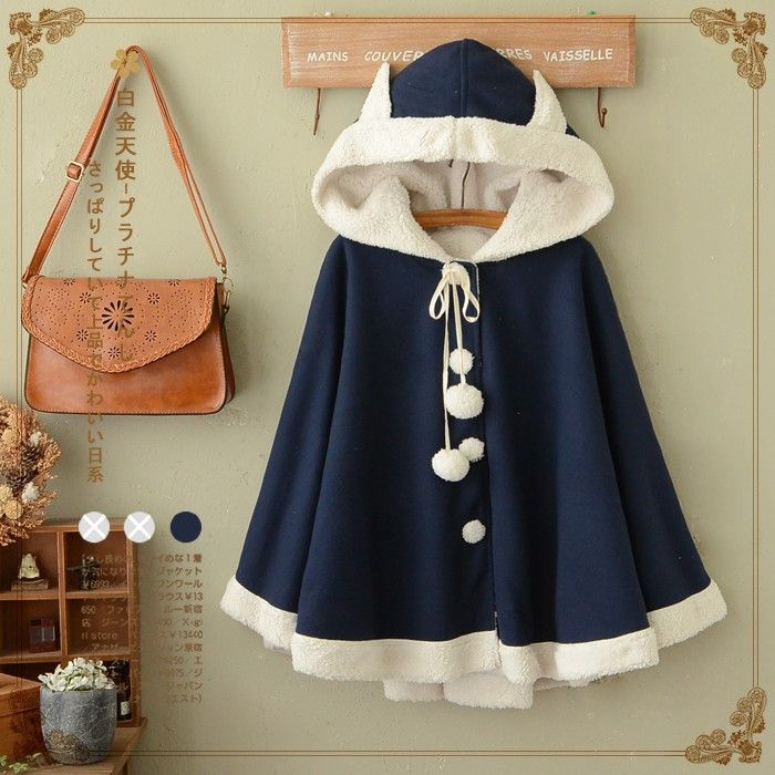 """Color:navy blue. Size:one size. Length:67cm/26.13"""". Fabric material:cotton. Tips: *Please double check above size and consider your measurements before ordering, thank you ^_^"""