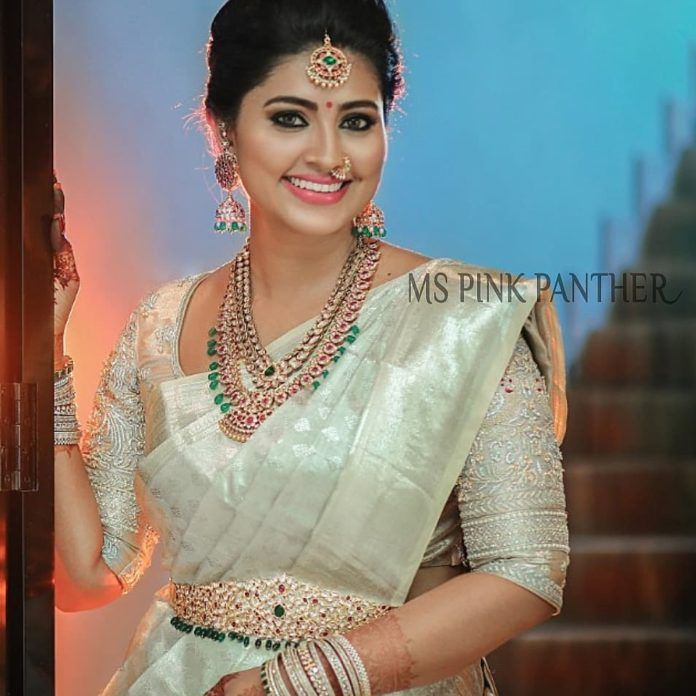 The Most Adorable Way To Wear A White Silk Saree • Keep Me