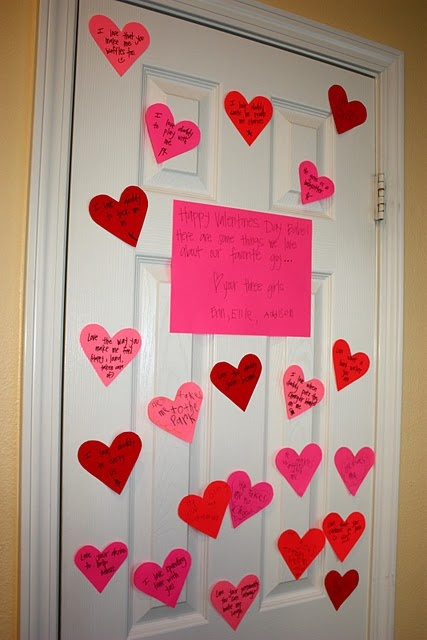 What we love about...put on kids doors and for daddy. Too cute