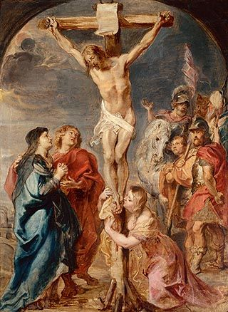 Christ on the Cross - Peter Paul Rubens