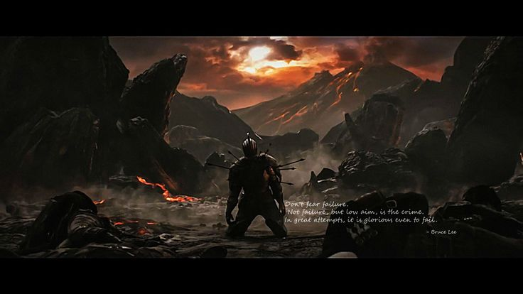 Quotes About Dark Souls: Don't Fear Failure: A Message From Bruce Lee That Is
