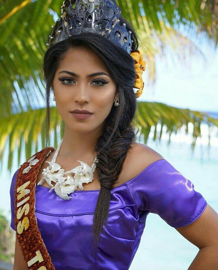Miss Tonga  Polynesian Dress-9223