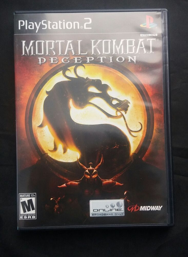 Mortal Kombat: Deception - Playstation 2 Game PS2 Complete | Video Games & Consoles, Video Games | eBay!