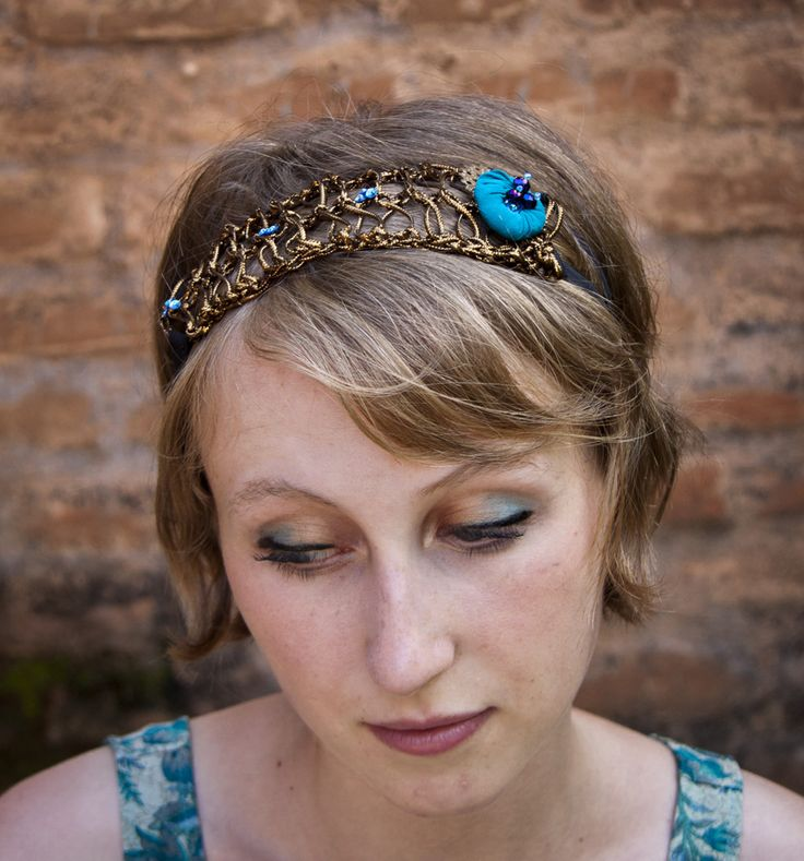 Head Band, hand made, for a 1920's twist!
