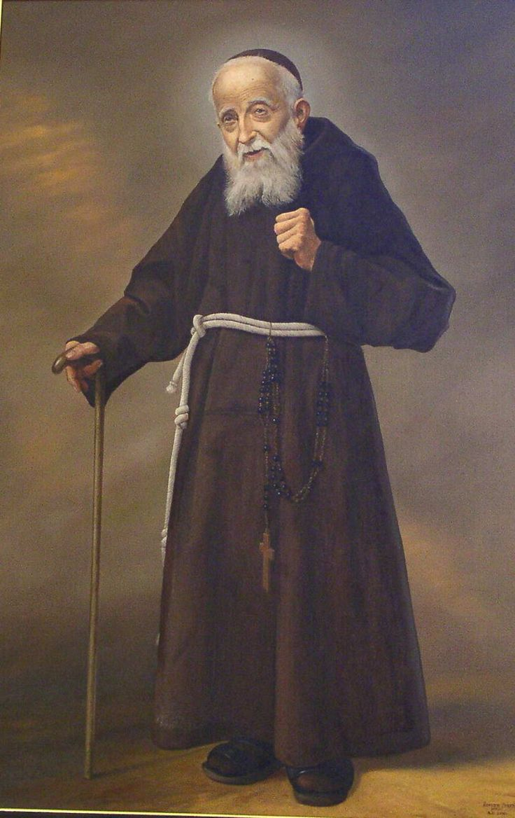 St Leopold Mandic is one of my favorite Saints!