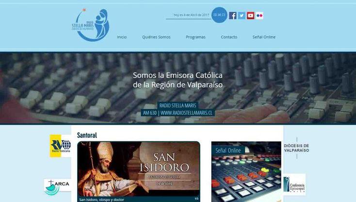 Nueva web de Radio Stella Maris de Valparaíso