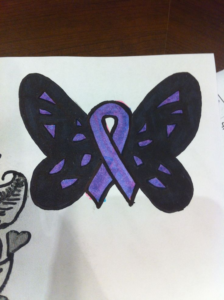 alzhimers ribbon