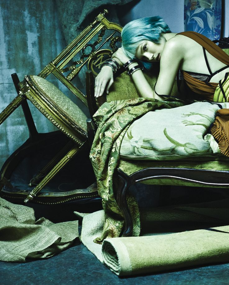 """""""A Doll House"""" Kasia Struss in Gucci by Rafael Stahelin for Vogue Korea February 2014"""