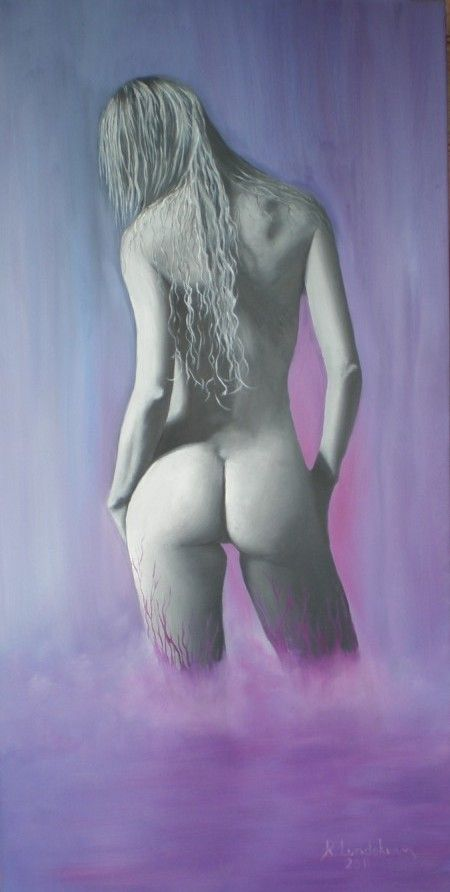 Oil nude painting