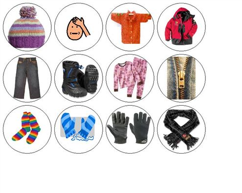 9 best The Jacket I Wear in the Snow Learning Activities ...