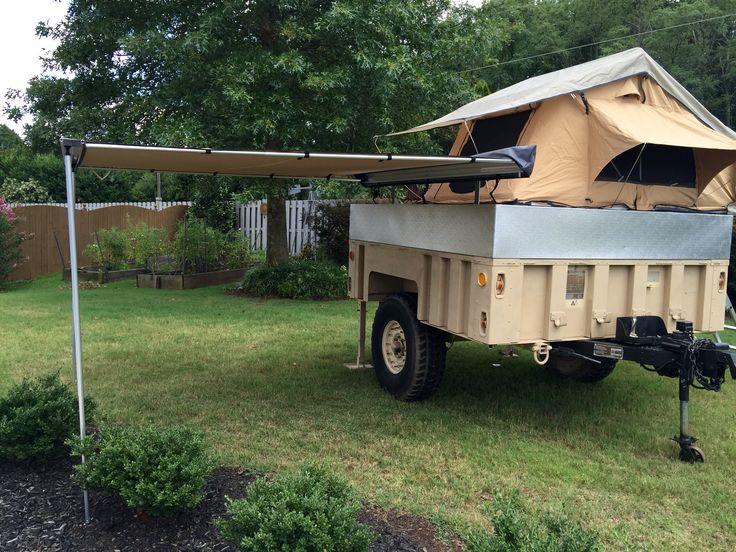 M1102 work in progress Military trailer conversion