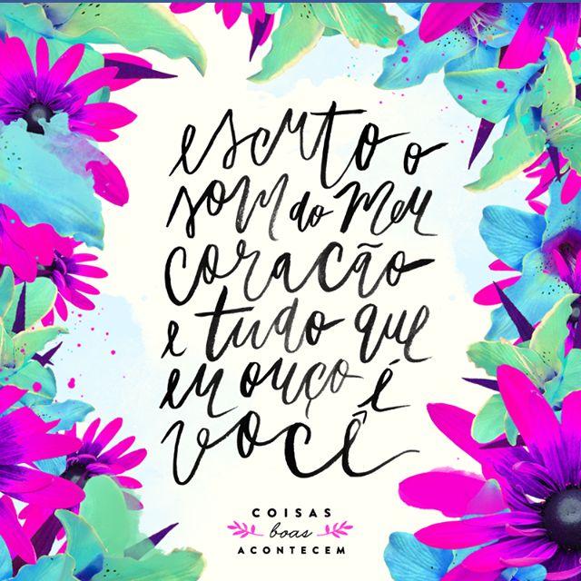 Essas imagens lindas, coloridas e muito bem feitas são do Coisas Boas Acontecem . Como eles falam, ''deixe a vida ma...