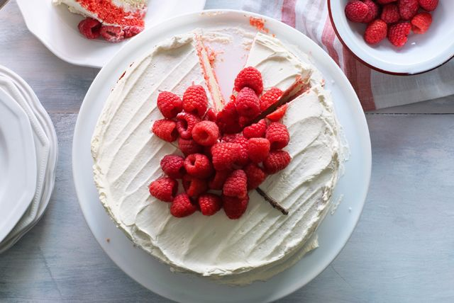 Canada Day Layer Cake