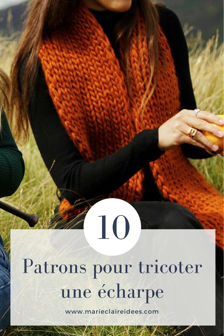 780 best tricot knitting images on pinterest - Tricoter une echarpe facilement ...