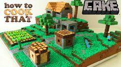 Minecraft Cake Template von HowToCookThat auf Etsy