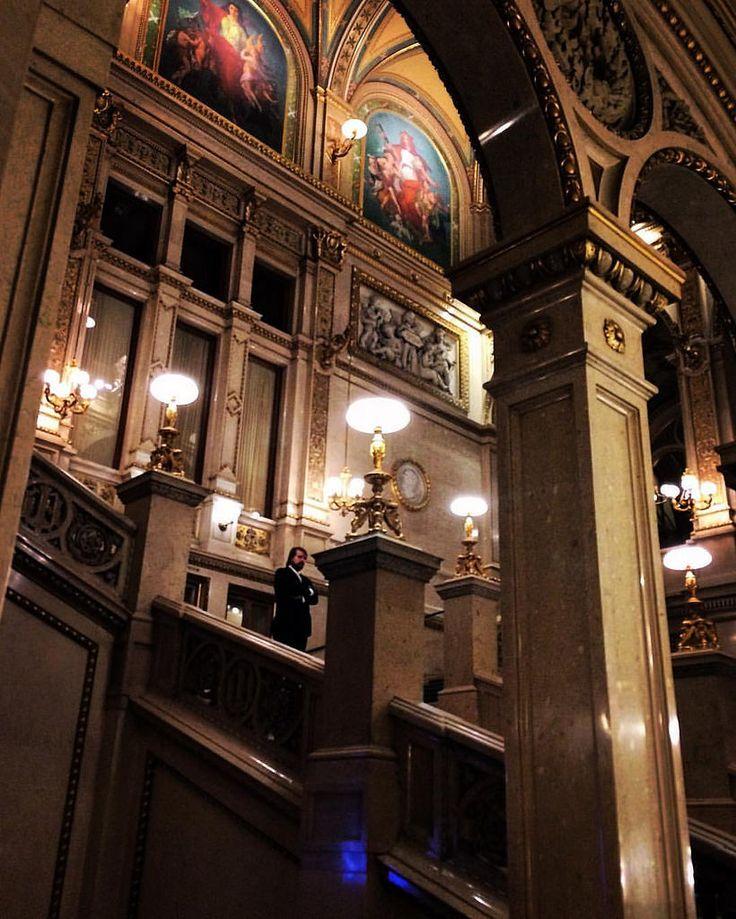 https://flic.kr/p/GeXH2d | Vienna State Opera. Marble staircase sweeps up from the main entrance to the first floor -— Венская государственная опера . Мраморные ступени встречают вас на главном входе.  #austria #austrian #vienna #wien #viennastateopera #opera #вена #австрия #опера