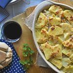 Con ingredientes sencillos se pueden hacer platos sublimes, como este pastel de patatas, jamón y queso ideal para una cena en familia. #directoalpaladar #receta#recipe #gastro #foodie #comida #foodlo