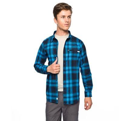 Mavi kareli gömlek