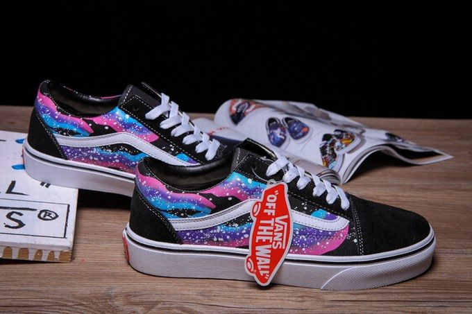Black Skool Womens Vans Shoesvans Starry Night Old mNv8O0wn