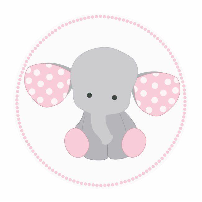 Beautiful Baby Girl Pink Elephant Statuette Zazzle Com Baby Girl Elephant Beautiful Baby Girl Pink Elephants Baby Shower