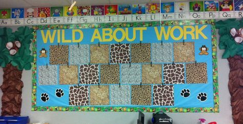 Wild About Firsties!: My WILD Bulletin Board!