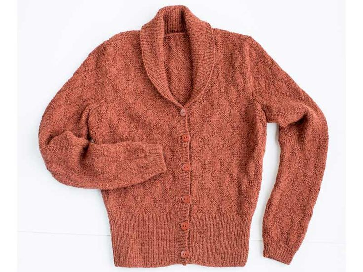 Sticka en snygg kofta i ett mjukt och skönt alpackagarn. Perfekt att bära i höst och vinter!