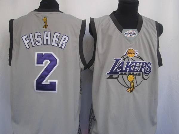 0f1f80751ea8 Sale 48.99 Derek Fisher 2 Los Angeles Lakers Adidas NBA Basketball Jersey  Authentic Large Lakers 2 Derek Fisher Embroidered White Champion Patch NBA  Jersey!