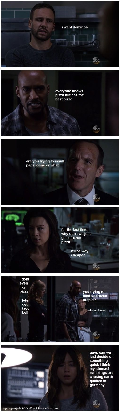 the family fight || Lance Hunter, Alphonso Mackenzie, Phil Coulson, Melinda May, Bobbi Morse, Skye || Agents of Frickle Frackle 2x11 Recap || #fanedit #humor