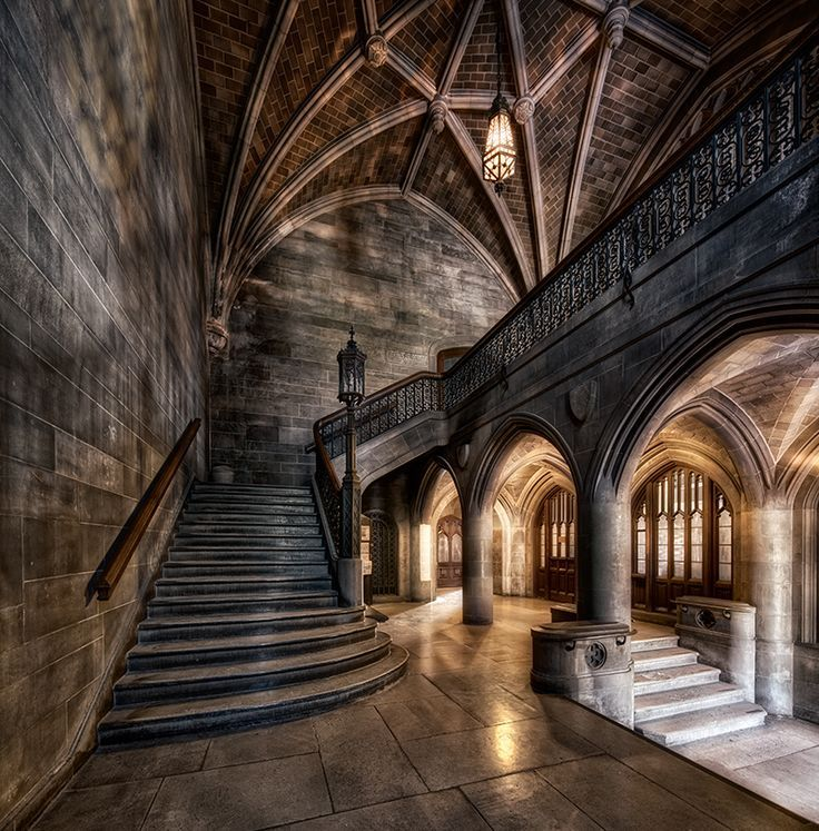 medieval castle stairs - Google Search