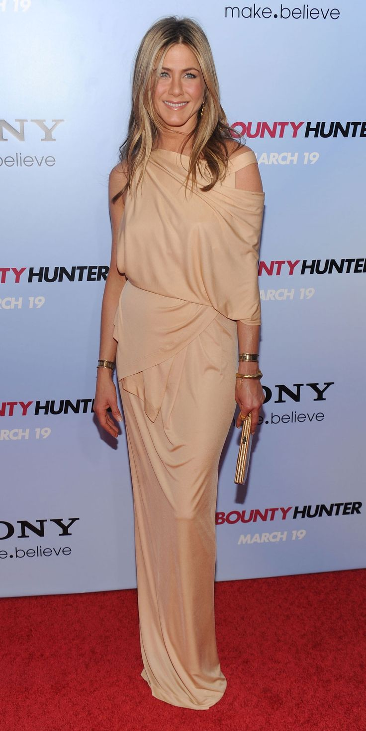 We found Jennifer Aniston's 10 best red carpet looks of all time - Donna Karan, ...