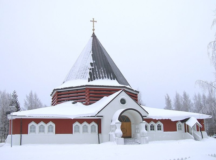 Church of Holy Family of Nazareth, Oulu, Finland