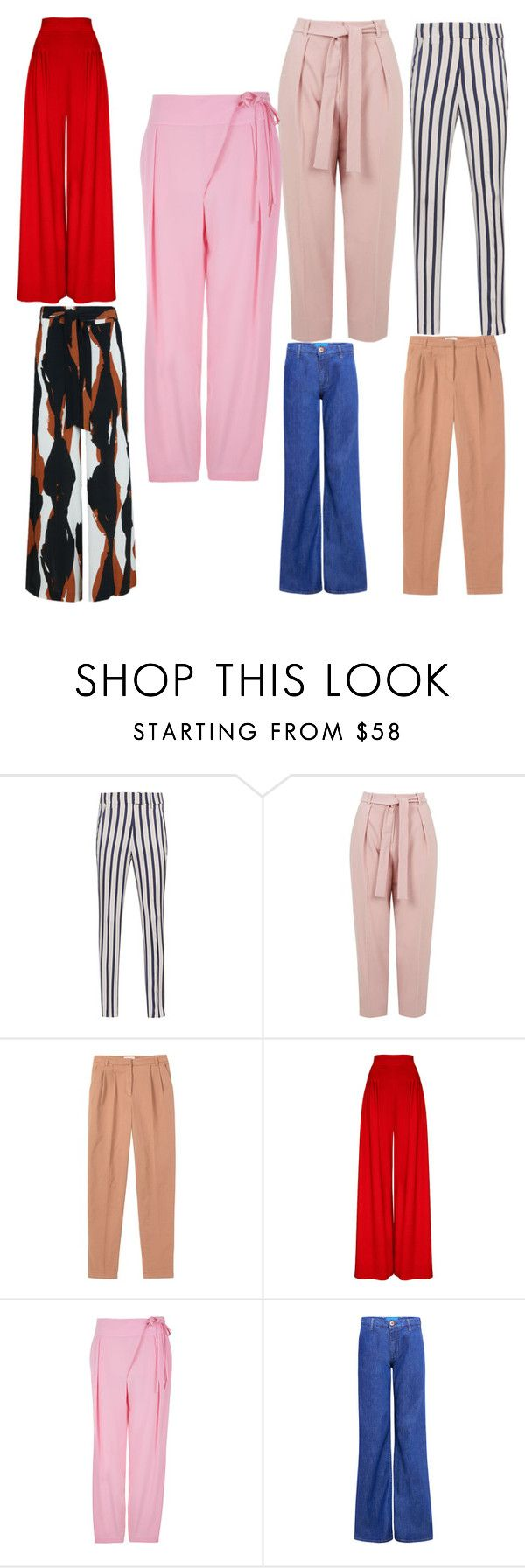 """""""Фасоны брюк"""" by siberia-natali ❤ liked on Polyvore featuring Dondup, Topshop, Toast, TIBI and M.i.h Jeans"""