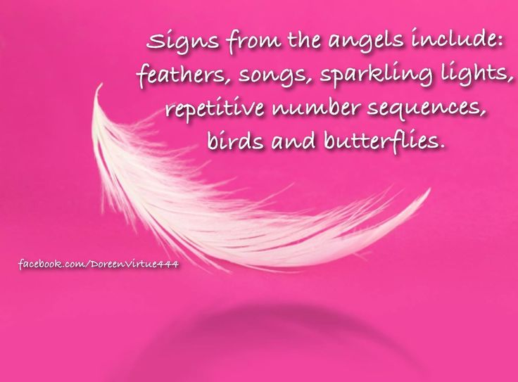 Sign from Angels