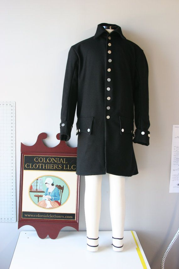 18th century Civilian Frock Coat by Colonial Clothiers ...