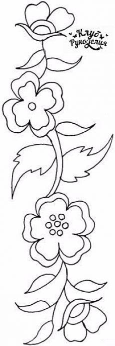 Flor trafarety / Artesanato