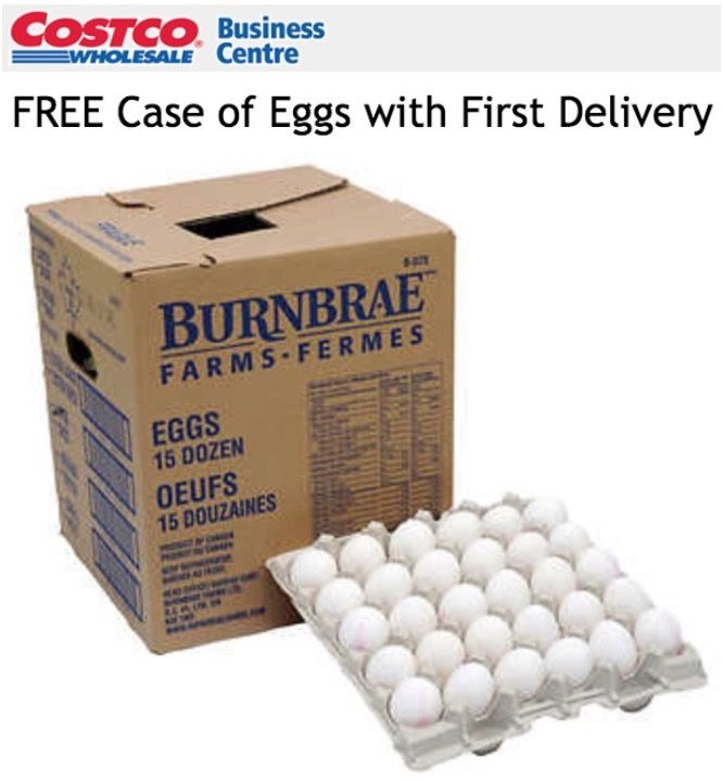Costco Canada Online Deals: FREE Case of 15 dozen Eggs with First Delivery  $50 Costco Cash Card Available with... https://www.lavahotdeals.com/ca/cheap/costco-canada-online-deals-free-case-15-dozen/262259?utm_source=pinterest&utm_medium=rss&utm_campaign=at_lavahotdeals&utm_term=hottest_12