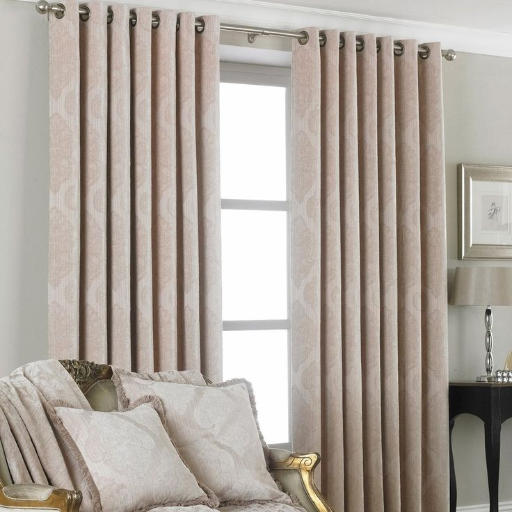 Winchester Eyelet Curtains, Natural Beige – PASX UK
