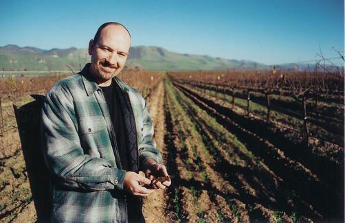Costa de Oro winemaker Gary Burk