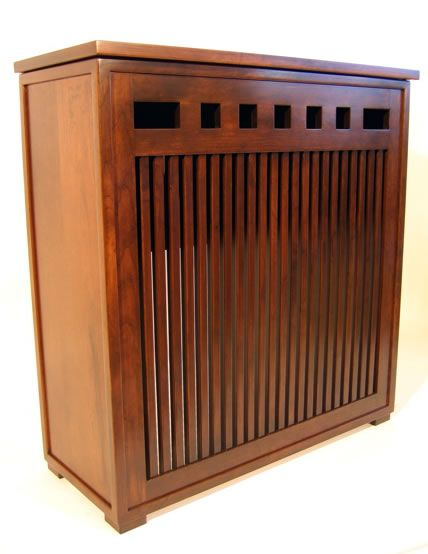 radiator cover from prairie woodworking