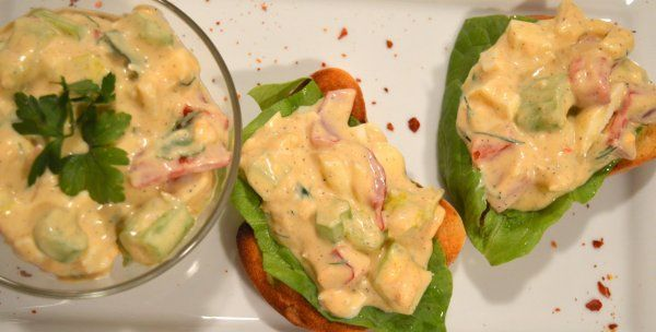 Easter egg salad/Húsvéti tojássaláta